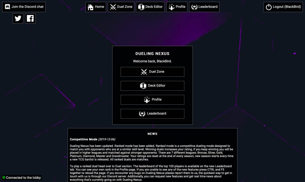 homepage nexus