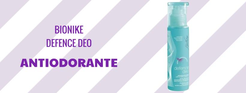 Antiodorante Spray Bionike - Deodorante per pelli sensibili e intolleranti.