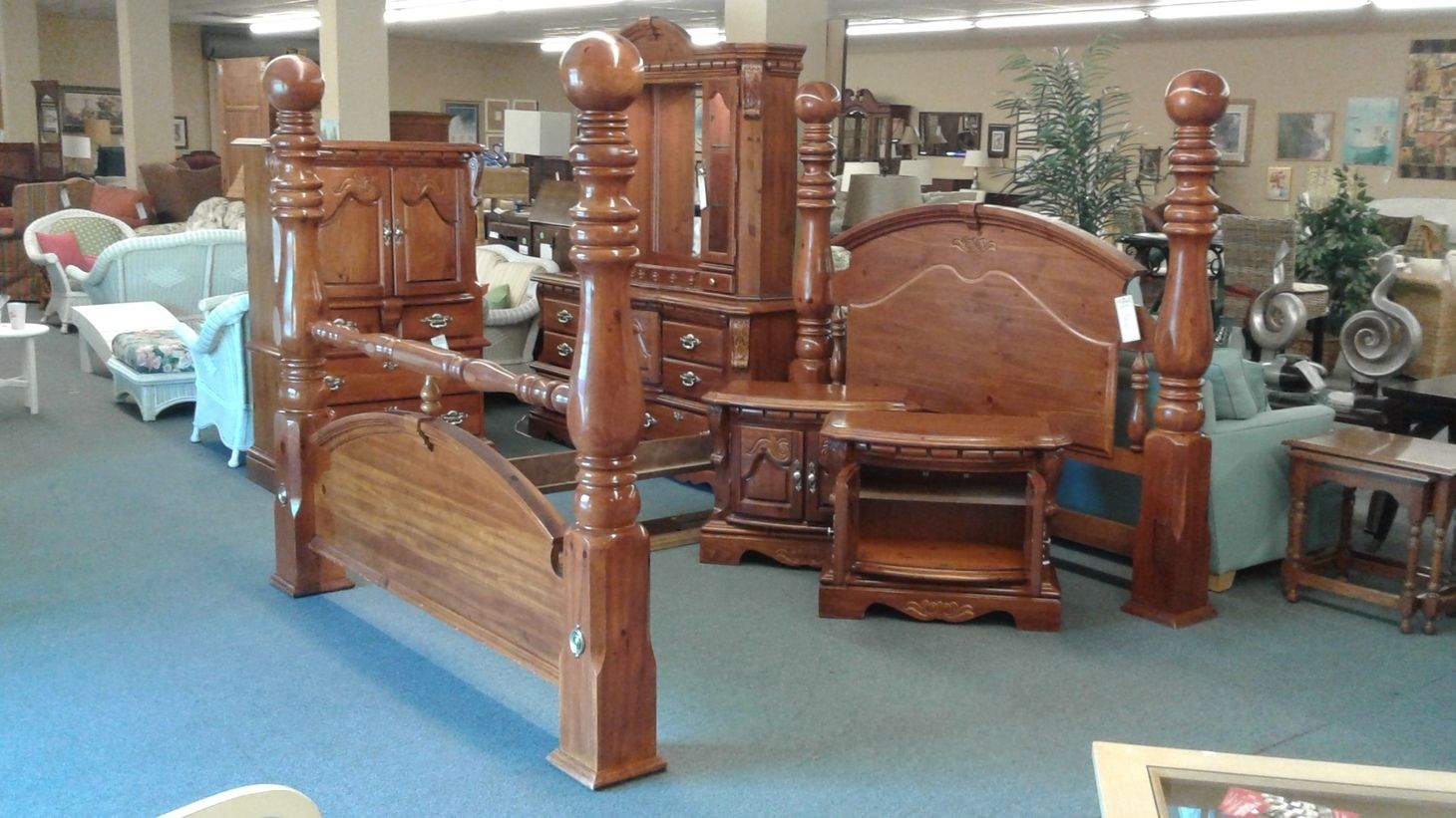 KING CANNON BALL BEDROOM SUITE Delmarva Furniture