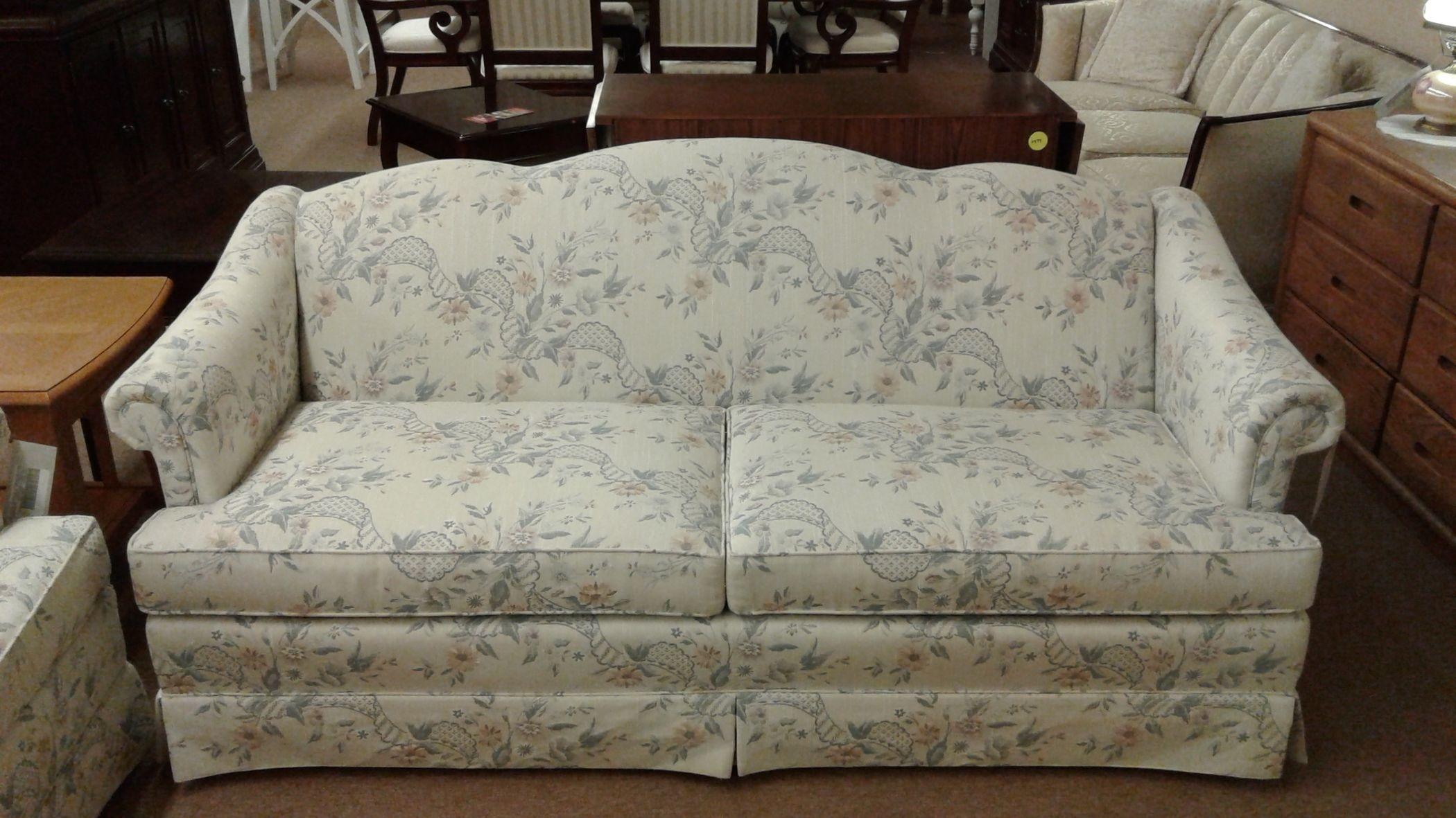 THOMASVILLE CAMEL BACK SOFA Delmarva Furniture Consignment