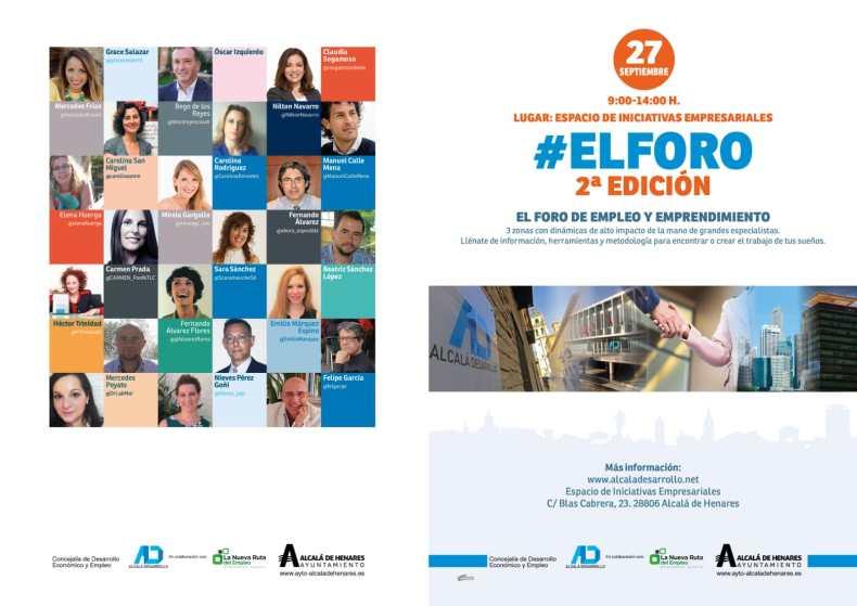 #Empleo #Emprendimiento #DesarrolloProfesional #ElForo #AlcalaDesarrollo