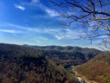 Scenic View from Hawks Nest State Park