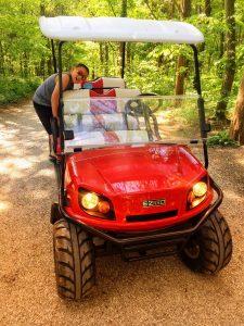 Golf Cart for Rent at Kentucky Down Under