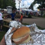 Pork Tenderloin Sandwich at the fair