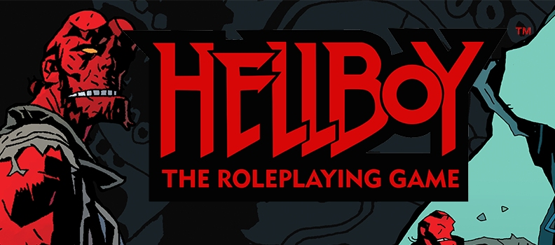'Hellboy: The Roleplaying Game' Goes Kickstarter Route this Summer