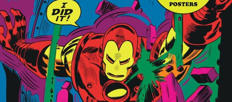 'Marvel Classic Black Light Posters' Portfolio Takes Fans Back to the Psychedelic Era