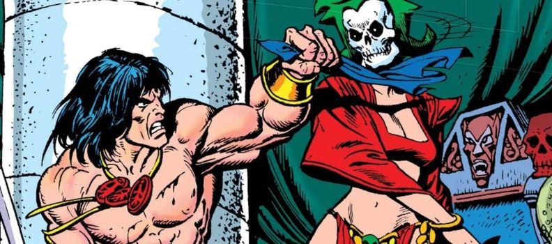 Conan the Barbarian's Early Marvel Adventures Continue in 'The Curse of the Golden Skull' Epic Collection