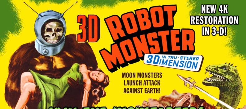 Kickstarter Campaign Resurrects 3-D Version of 'Robot Monster'