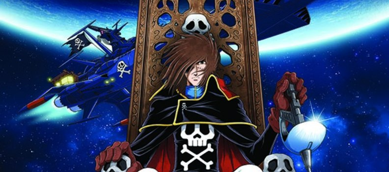 'Space Pirate: Captain Harlock' Hardcover Collection Coming from Ablaze Comics