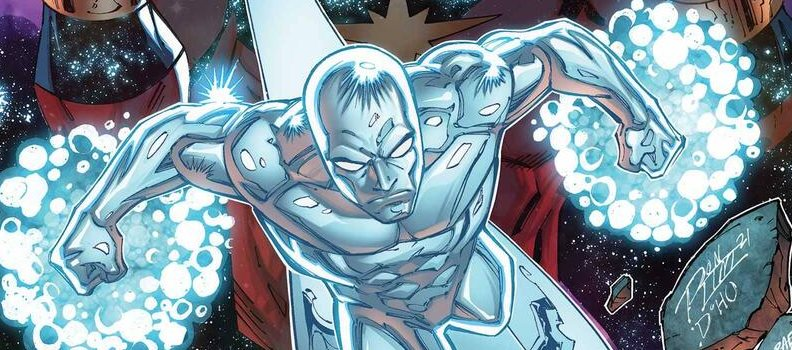 Ron Marz and Ron Lim Return to Cosmos in 'Silver Surfer: Rebirth'