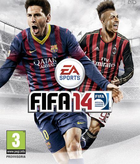 FIFA 14 Portada italiana