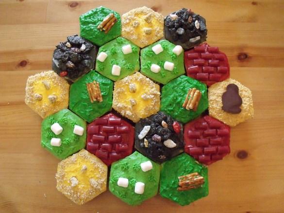 Catan Cupcakes