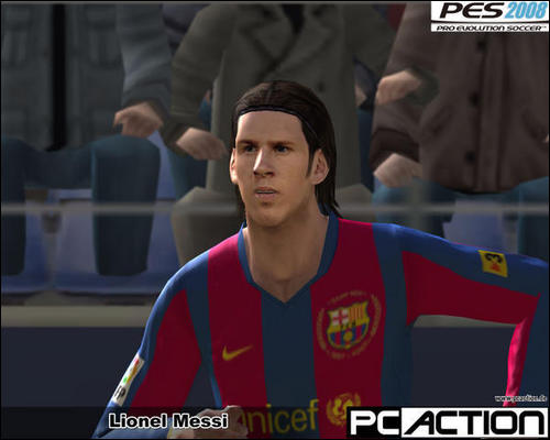 Leo Messi PES 2008