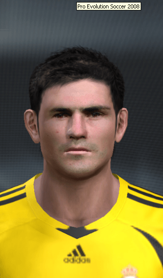 Iker Casillas PES 2008