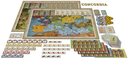 Tablero de Concordia