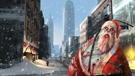 Papá Noel en Infected