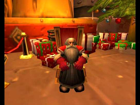Papá Noel en WOW