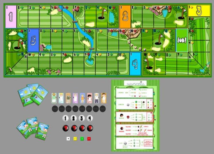 Componentes Golf'n'Roll