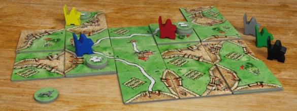 Carcassonne: Ovejas y Colinas
