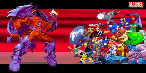 Onslaught Marvel vs Capcom