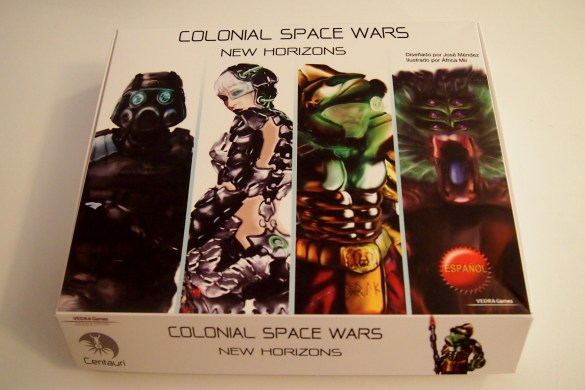 Portada Colonial Space Wars