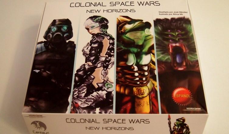 Portada Colonial Space Wars