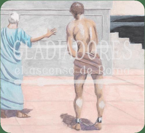 Gladiadiores el ascenso de Roma