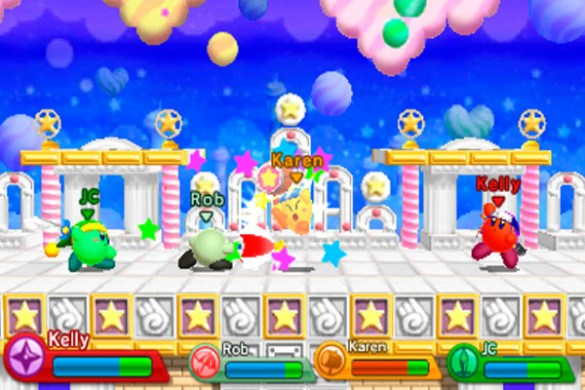Combates Kirby Triple Deluxe