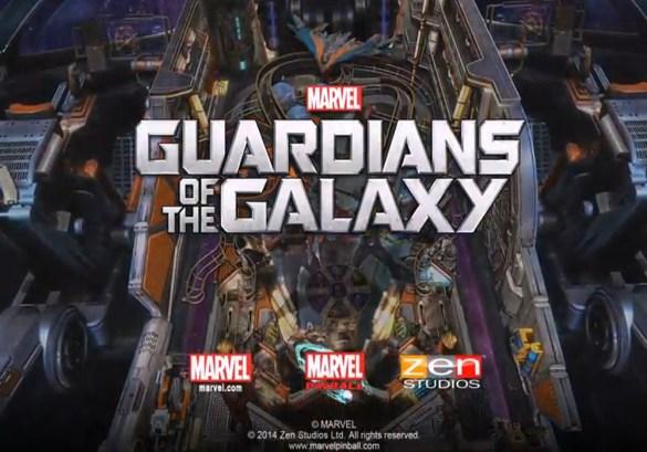 Guardianes de la Galaxia Zen Pinball 2