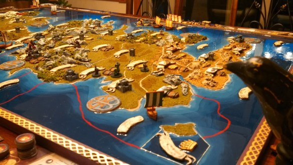3D Game of Thrones Board Game 1