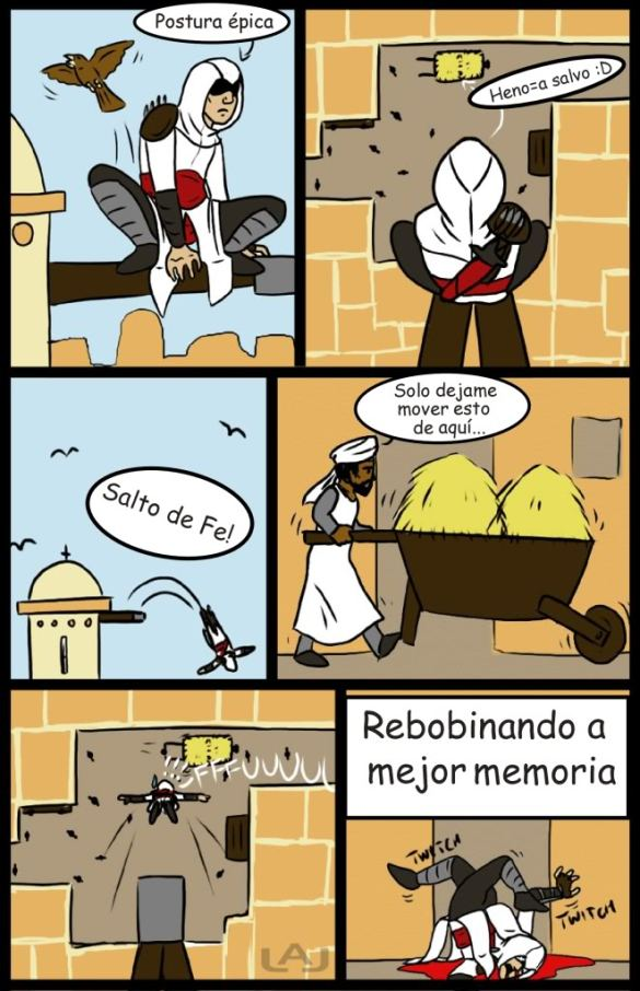 Humor Assassin´s Creed 2