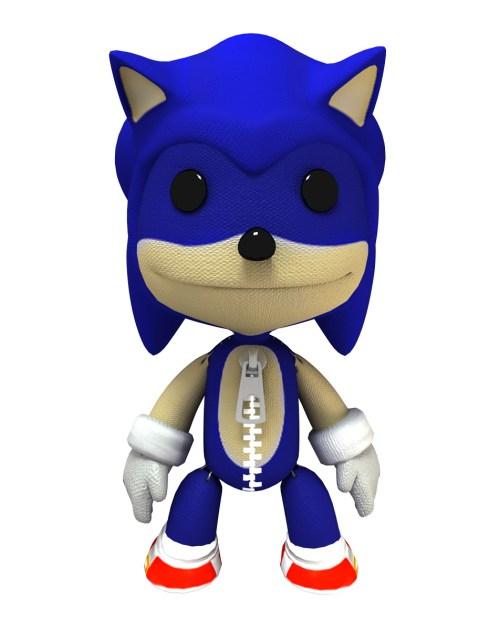 Sackboy Sonic
