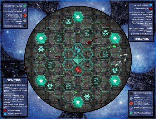 Apocalypse Galactic Arena Tablero