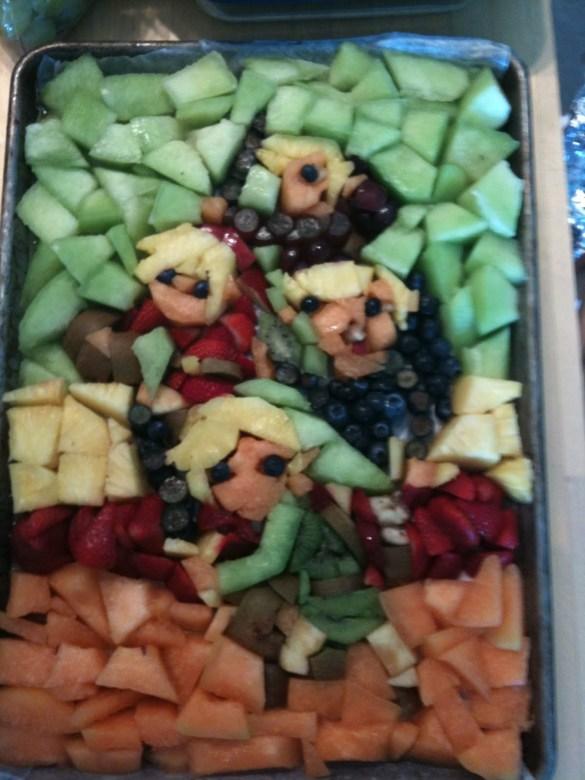 Ensalada de frutas Zelda