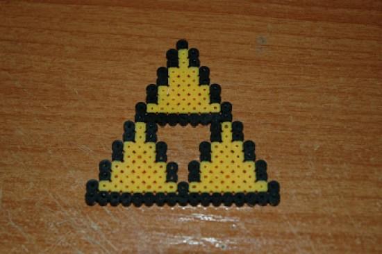 Hama Beads Tri Fuerza