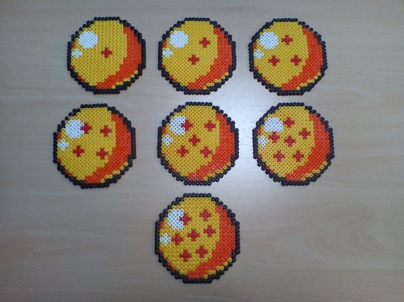 Hama Beads Dragon Ball Bolas de Dragón