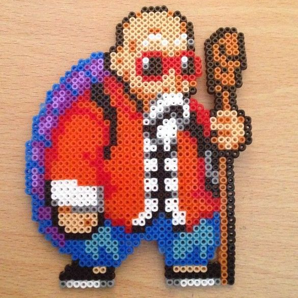 Hama Beads Dragon Ball Maestro Mutenroi