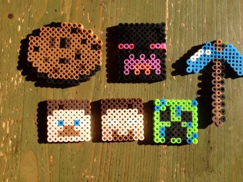 Hama Beads de Minecraft