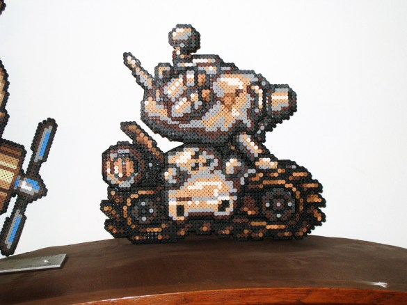 Hama Beads Metal Slug 2