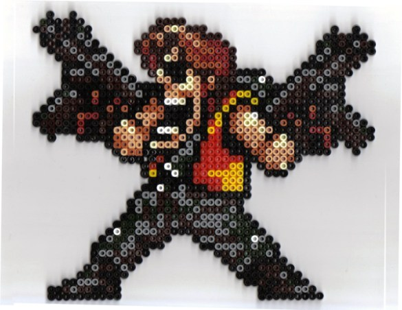 Hama Beads Metal Slug