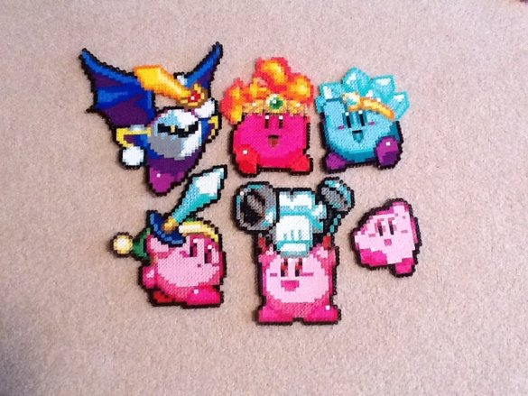 Kirby Hama Beads