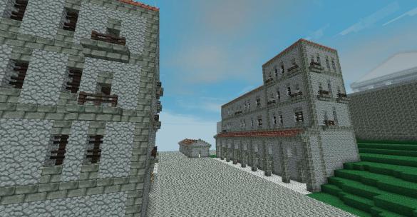 Casas Romanas Minecraft