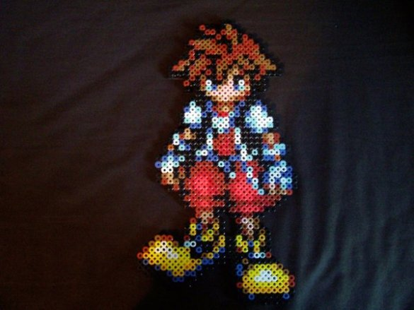 Kingdom Hearts Hama Beads