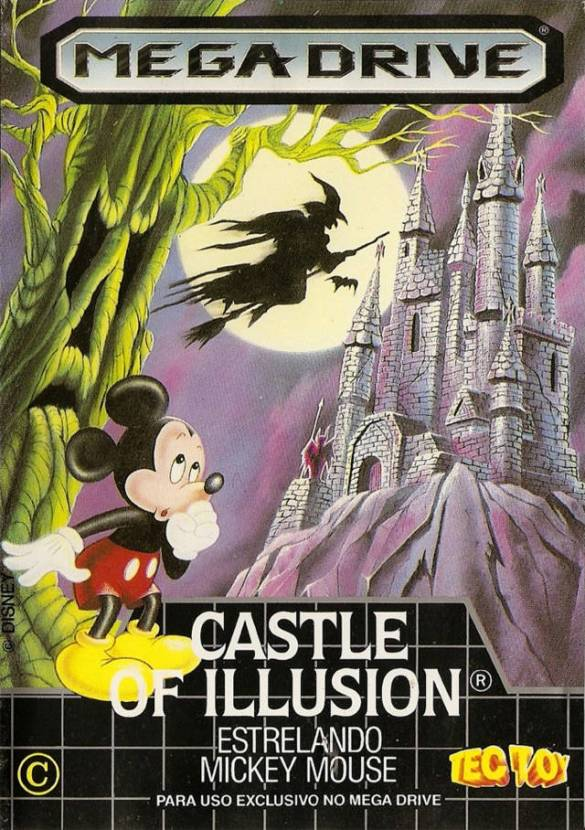 Mickey Mouse's Castle Illusion 8 BITS
