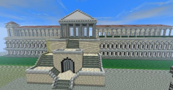 Templo Divino Minecraft