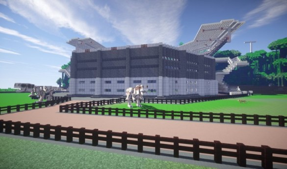 Jurassic World Minecraft Isla Nublar