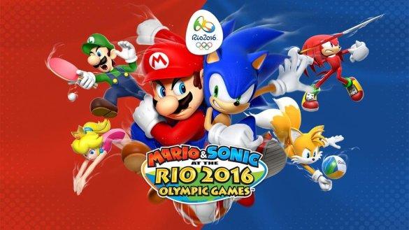 Mario & Sonic en los Juegos Olímpicos de Río 2016