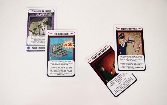 En ella se pueden doblar los beneficios de los negocios, utilizar cartas de acción y negociar con otros jugadores.