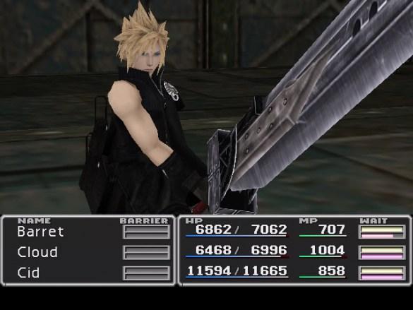 Final Fantasy 7 2D