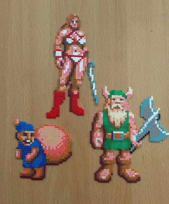 Hama Beads Golden Axe